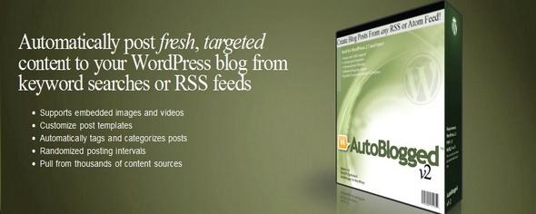 autoblogged software