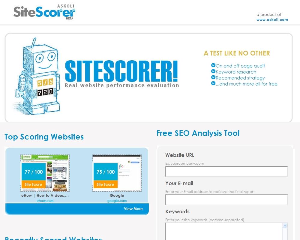Site Scorer
