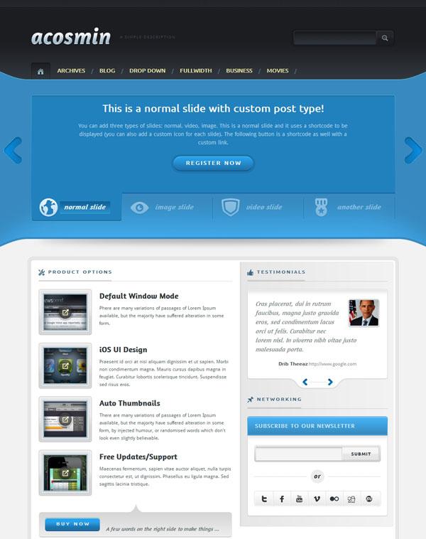 Acosmin Product Theme