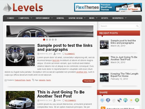 FlexiThemes Levels Theme