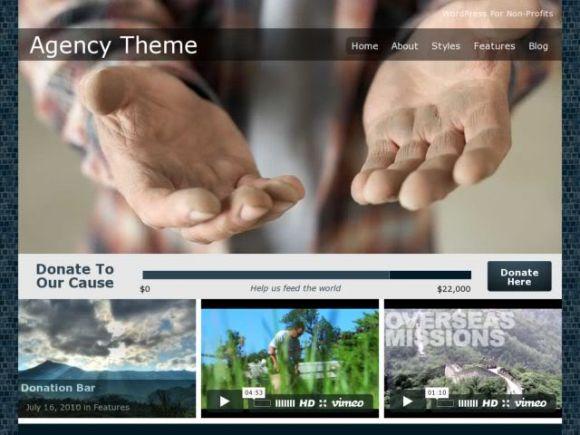 Organized Themes Agency Theme