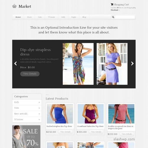 Templatic eMarket Theme