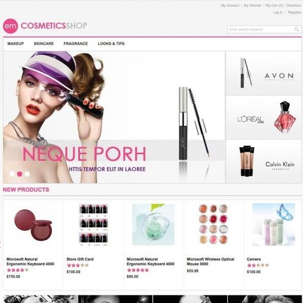 Em Beauty Store For Magento Go Theme