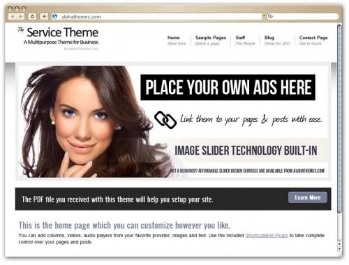 Aloha Themes Service Theme
