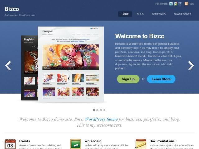 Themify Bizco Theme