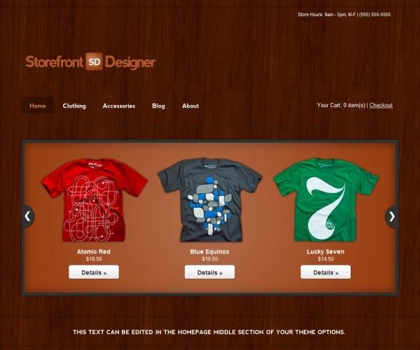 Storefront Designer Theme