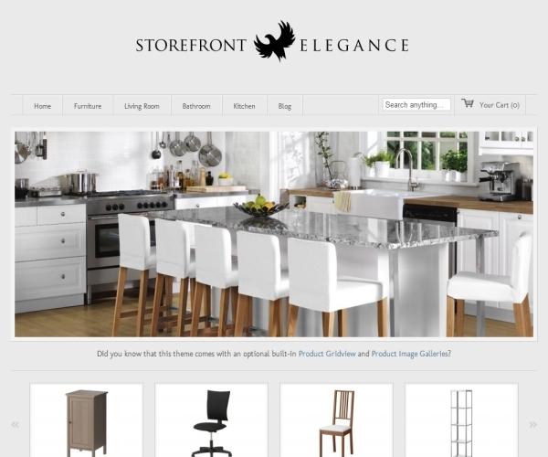 Storefront Elegance Theme