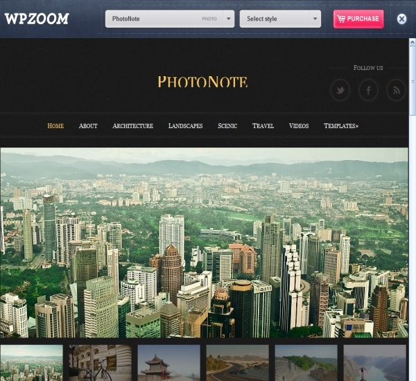 ProudThemes PhotoNote Theme