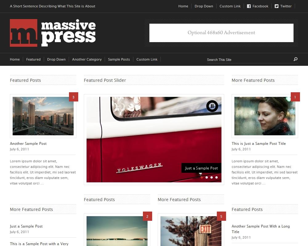 Press75 Massive Press Theme