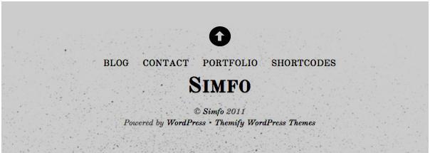 Themify Simfo Theme