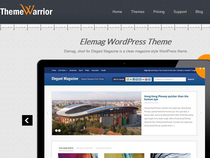ThemeWarrior Elemag Theme