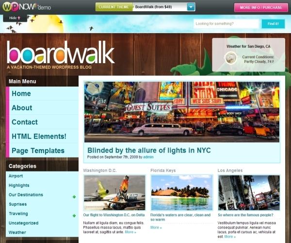Wpnow Boardwalk Theme
