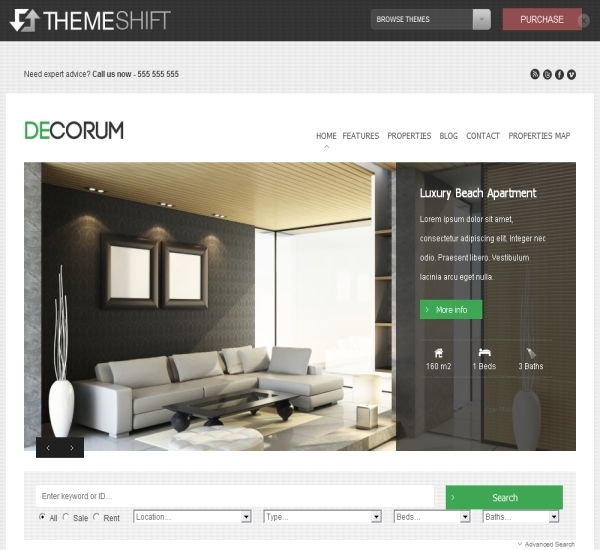 ThemeShift Decorum Theme