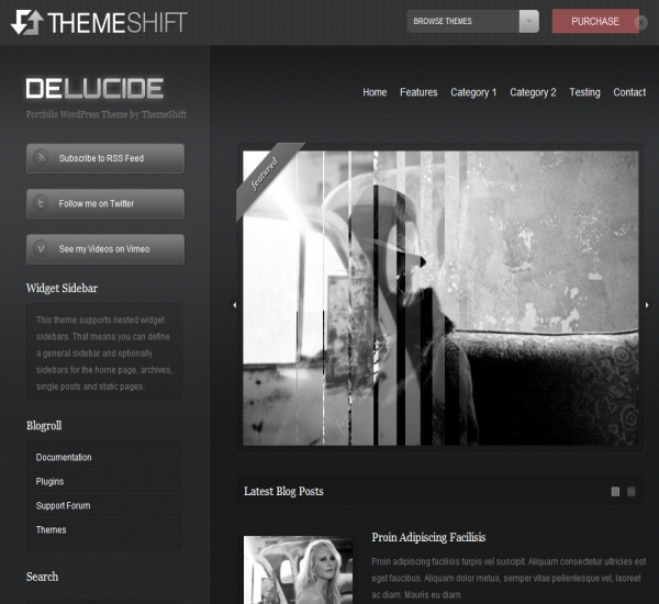 ThemeShift deLucide Theme