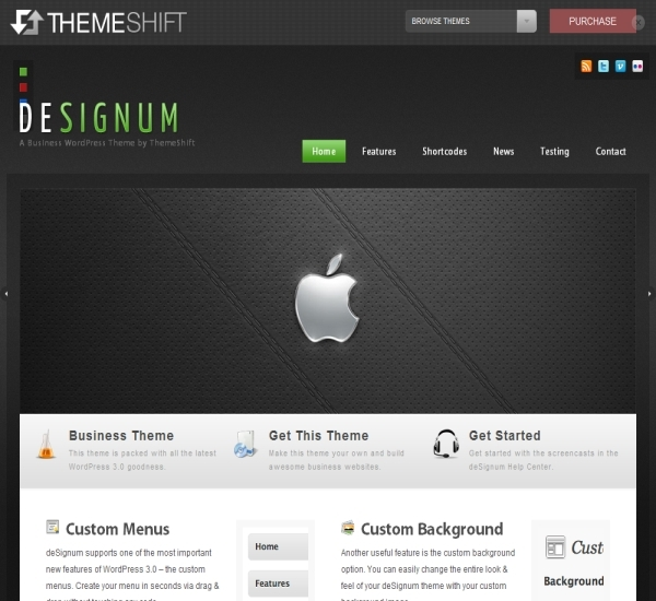 ThemeShift DeSignum Theme