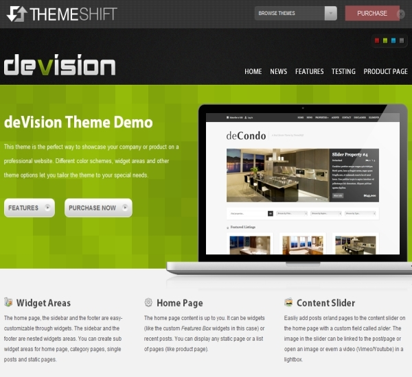 ThemeShift Devision Theme
