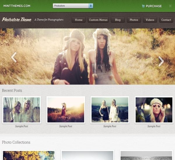Mint Themes Photostore Theme