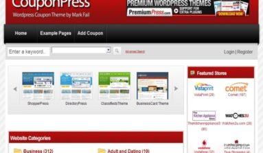 PremiumPress WordPress Coupon Theme Review