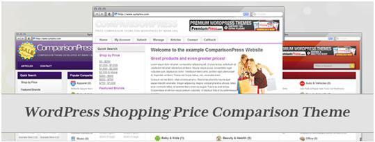 PremiumPress WordPress Product Comparison Theme