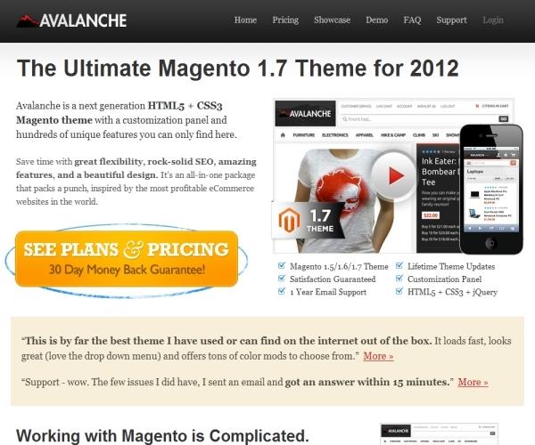 Fastdivision Avalanche Magento Theme