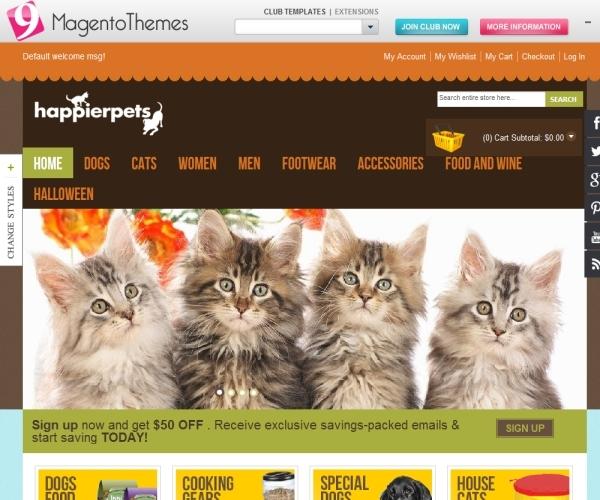 MT PetShop- Responsive Magento Theme