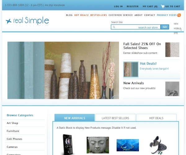 Lotus Seeds Design Real Simple Premium Theme