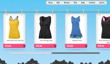 """Cloud Clothes"" Magento theme Review"
