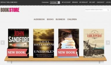 MageStore Book Corner Magento Theme Review
