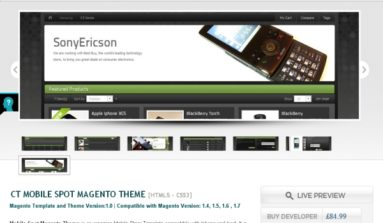 Mobile Spot Magento theme Review