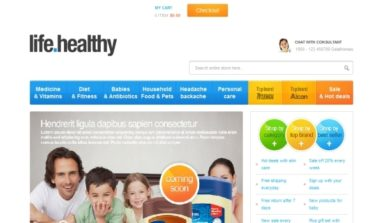 Gala Drug Store Magento Theme Review