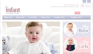 Infant Premium Magento Theme Review