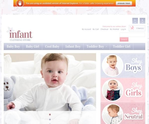 Infant Premium Magento Theme
