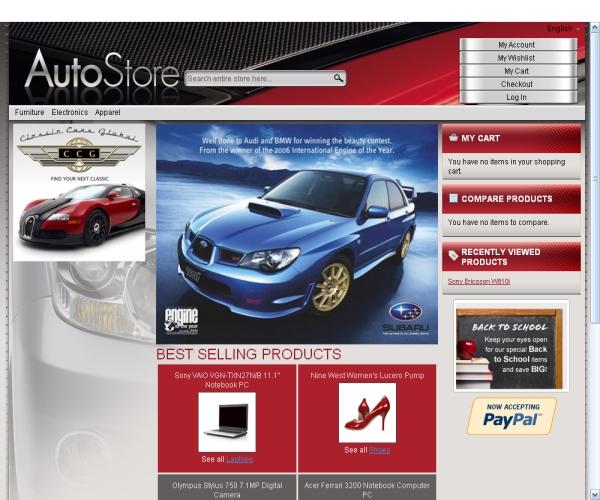 Auto Store-Premium Magento theme