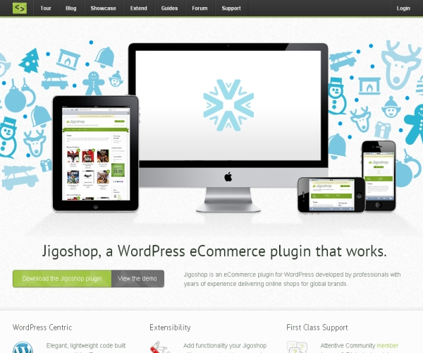 Jigo Shop- An ecommerce plug-in for WordPress