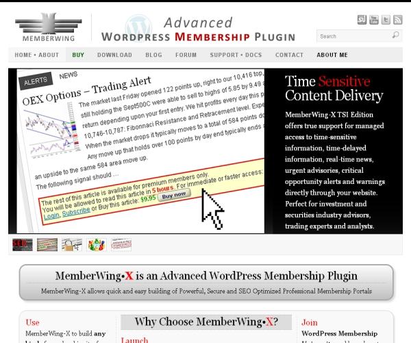 Member Wing-Premium WordPress plug-in