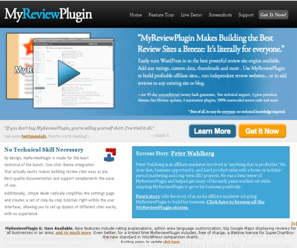 My Review Plug-in