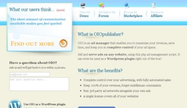 OIO Publisher Plugin Review-A Premium WordPress Ad manager plug-in