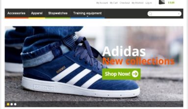 """Sports Store"" Magento Theme Review"