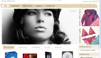 """Floral Grunge"" Magento Theme Review"