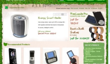 """Green Universal"" Magento theme Review"