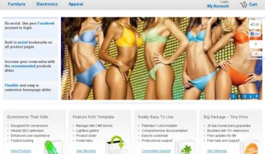 """Ultimento"" Magento Theme Review"
