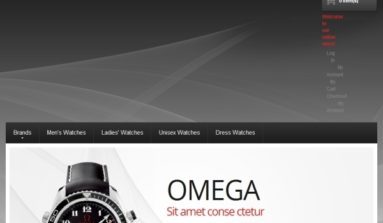 Watches Premium Magento Theme Review