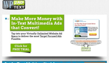 """WP Text to Ad"" Plugin Review- A Premium Advertizing management plug-in"