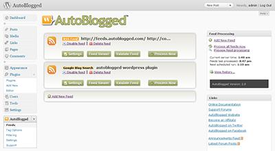 autoblogged sw