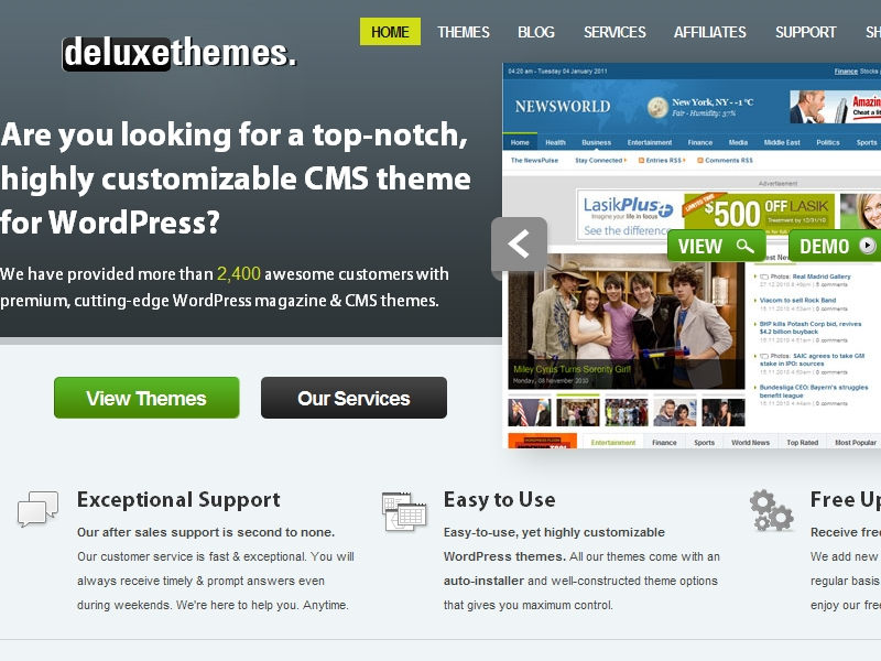 Deluxe Themes