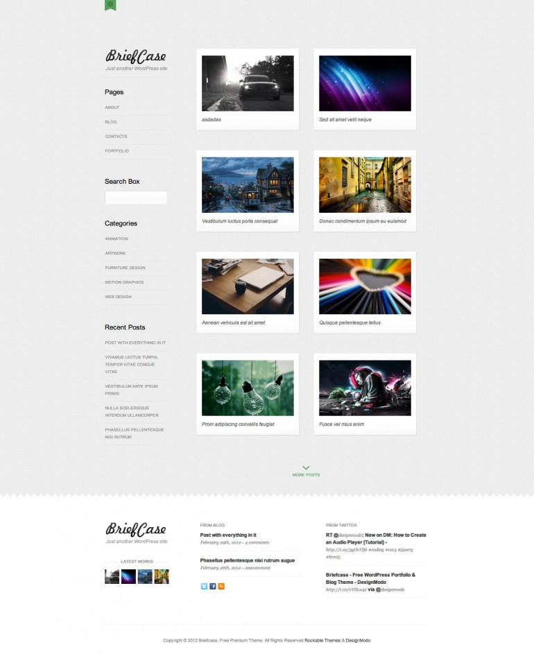 Rockable Themes Brief Case Theme