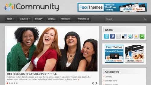 FlexiThemes iCommunity Theme