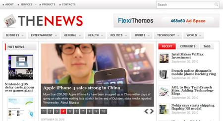 FlexiThemes News Theme