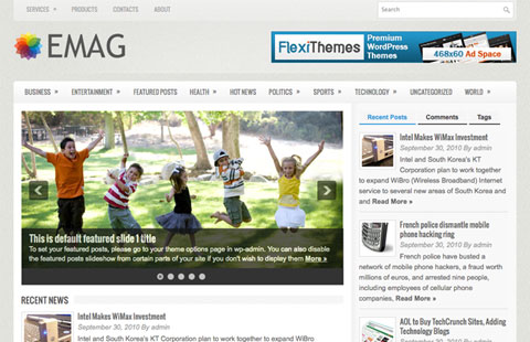 FlexiThemes eMag WordPress Theme