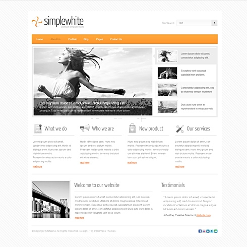 TemplateSold SimpleWhite Theme